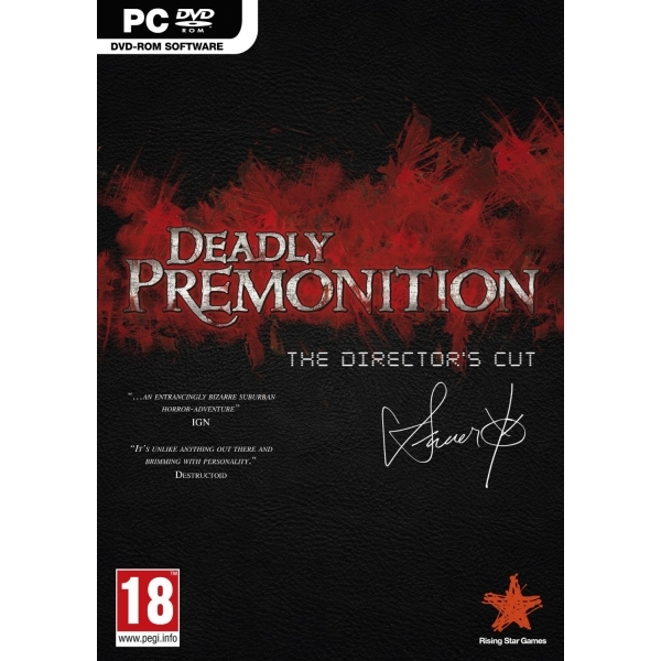 Deadly Premonition Directors Cut Game PC