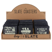 A Retro Slate Coaster Pack Of 24