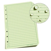 Rite in the Rain Loose Leaf Universal Sheets 4.5 x 7 Inch - Green