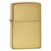 Zippo New Windproof Lighter Brushed Brass