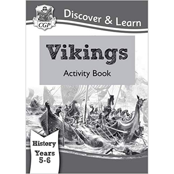 KS2 Discover & Learn: History - Vikings Activity Book, Year 5 & 6 by CGP Books (Paperback, 2014)