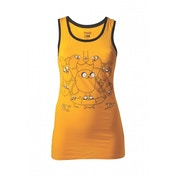 Adventure Time Jake Tank Top X-Large Yellow