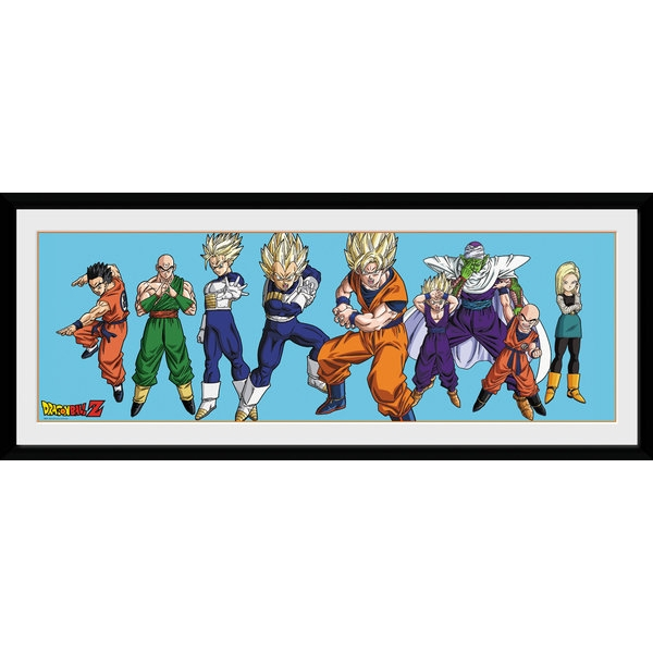 Dragon Ball Z Heroes Framed Collector Print