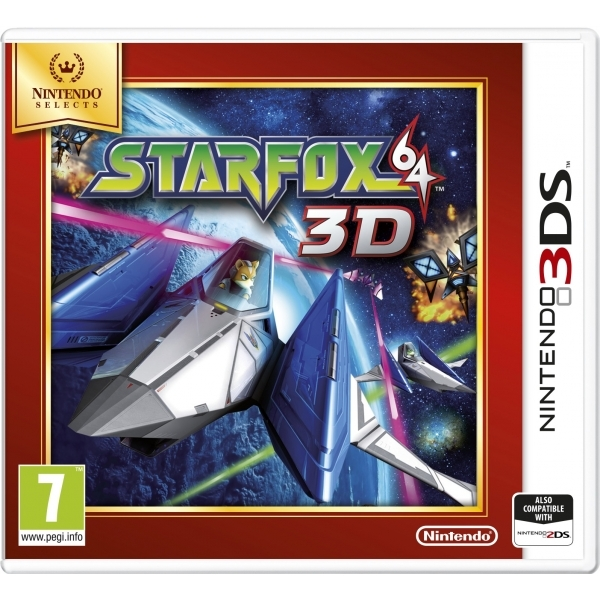 Star Fox 64 3D Game 3DS (Selects) - Image 1