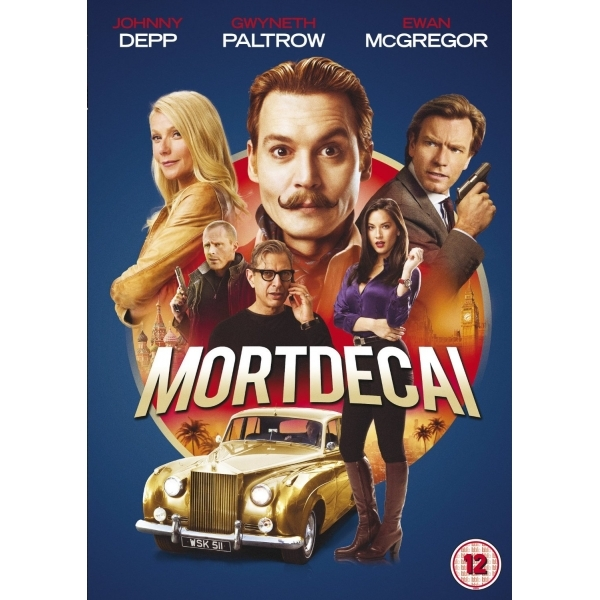 Mortdecai DVD