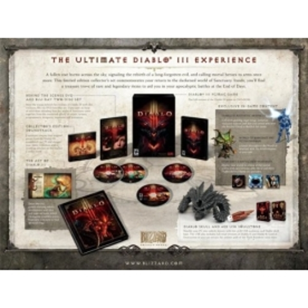 Diablo III 3 Collector's Edition Game PC & MAC - Image 2