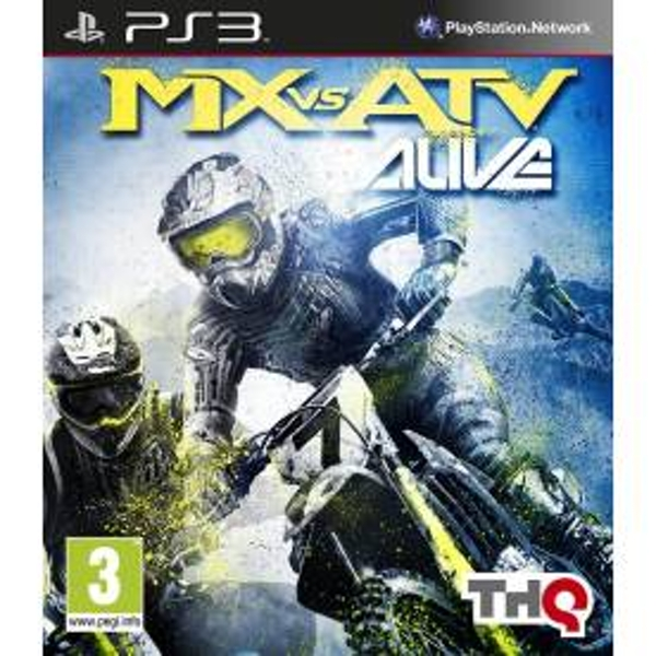 MX Vs ATV Alive Game PS3