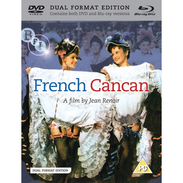 French Cancan DVD + Blu-ray