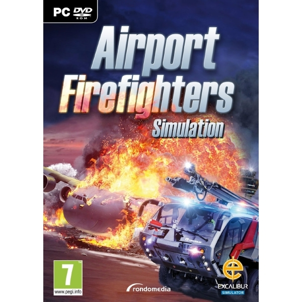 Airport Firefighter The Simulation PC Game