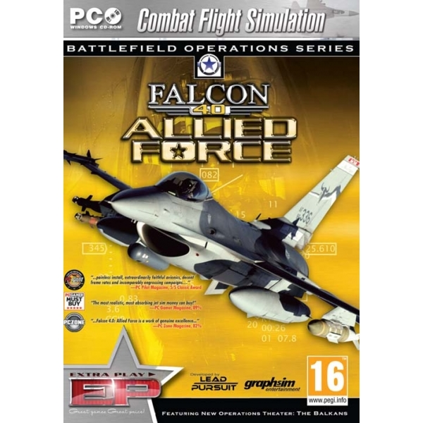 Falcon 4.0 Allied Force Game PC