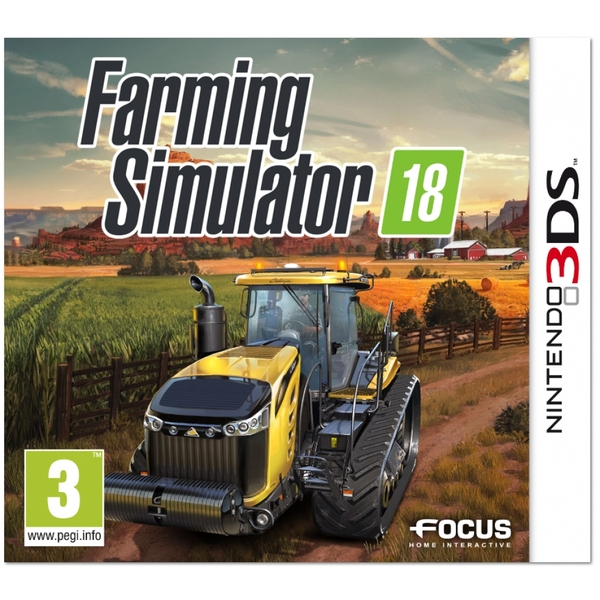 Farming Simulator 18 3DS Game
