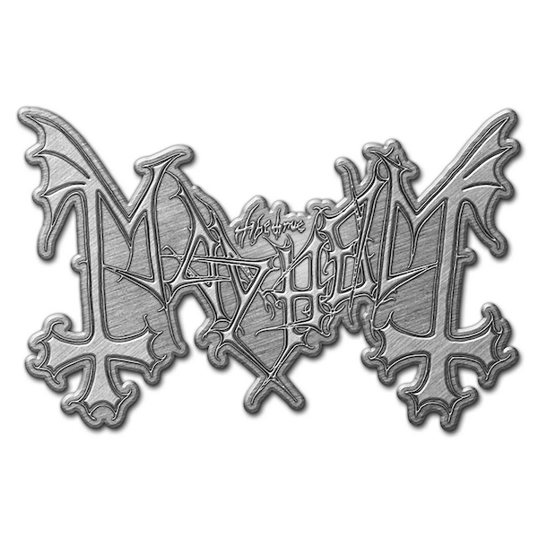 Mayhem - Logo Pin Badge