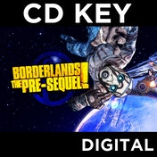 Borderlands The Pre-Sequel! (with Shock Drop Slaughter Pit DLC) PC CD Key Download for Steam