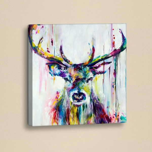 GY010 White Purple Green Yellow Pink Decorative PU Leather Painting