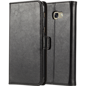 Samsung Galaxy A5 (2017) Real Leather ID Wallet - Black