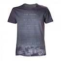 Sony Playstation Adult Male Skyscraper Skyline....I Have Lived Sublimation Small T-Shirt