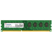 ADATA 8GB, DDR3, 1600MHz (PC3-12800), CL11, DIMM Memory, Single Rank, 512x8
