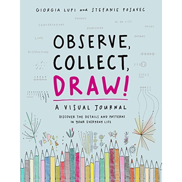 Observe, Collect, Draw!  Notebook / blank book 2018