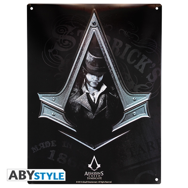 Assassin's Creed - Asc Syndicate (28 x 38cm) Metal Plate