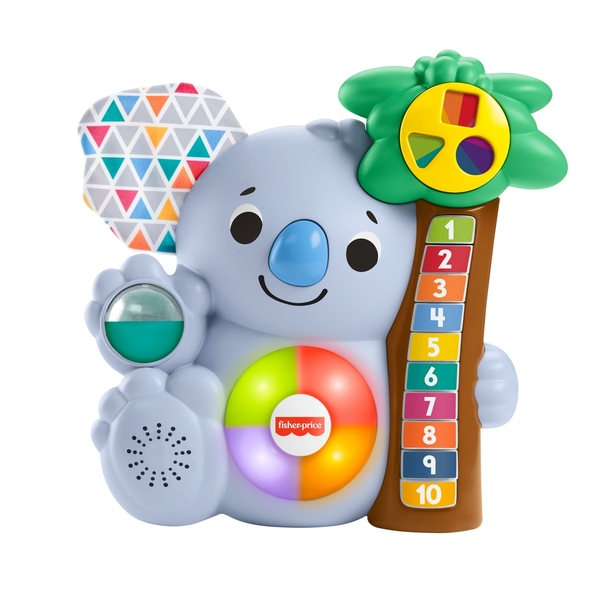 Fisher Price Linkamals Counting Koala Activity Toy