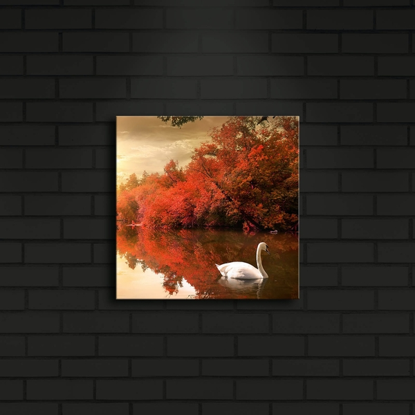 2828?ACT-9 Multicolor Decorative Led Lighted Canvas Painting