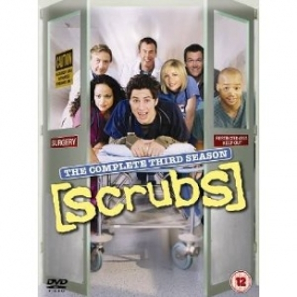 Scrubs Complete Series 3 Box Set DVD