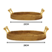 Rattan Serving Trays - Set of 2 | M&W - Image 5