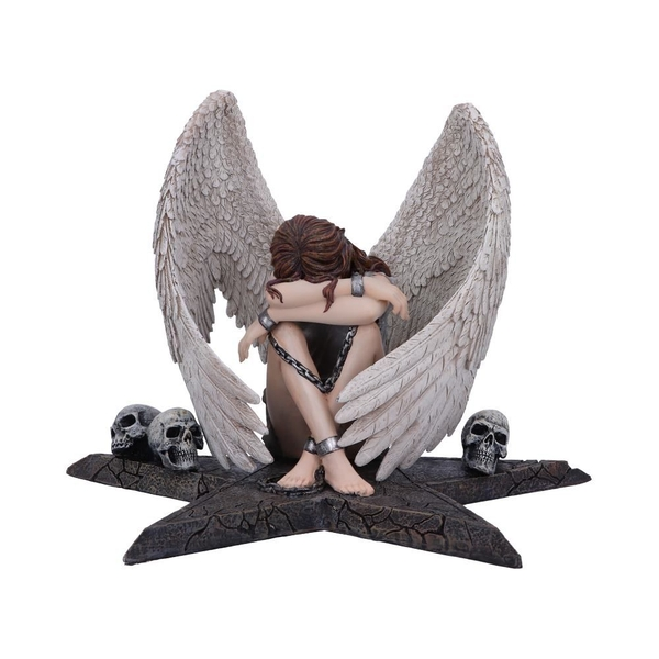 Enslaved Sorrow Angel in Chains Figurine