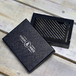 Carbon Fibre Mens RFID Blocking Card Wallet | M&W - Image 4