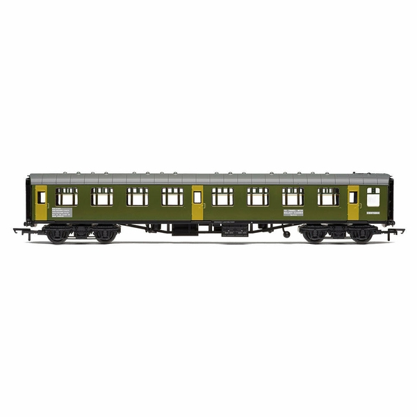 Hornby BR Departmental, ex-Mk1 SK Ballast Cleaner Train Staff Coach, DB 975804 - Era 7 Model Train