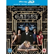 Great Gatsby 3D Blu-ray 2D Blu-ray and UV Copy