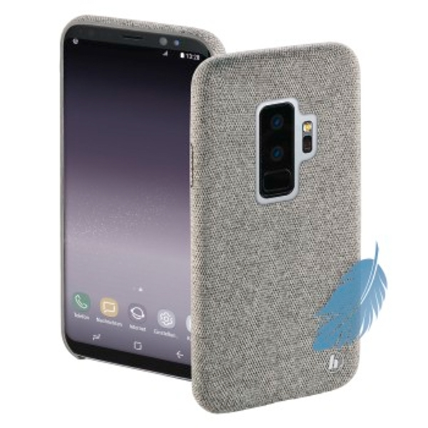 "Hama ""Cozy"" Cover for Samsung Galaxy S9+, light grey"