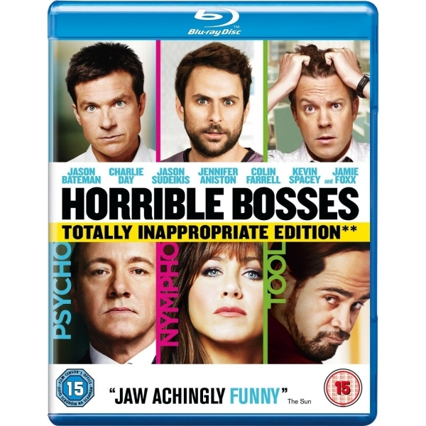 Horrible Bosses 2012 Blu-ray