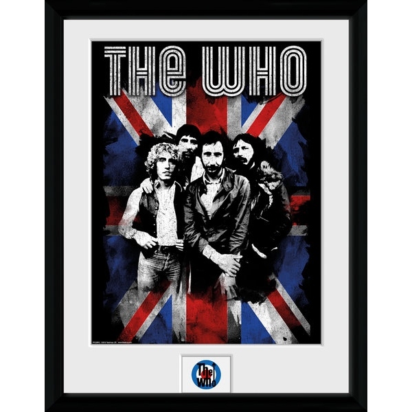 The Who Union Jack Collector Print