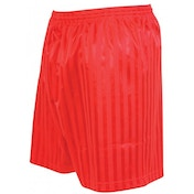 Precision Striped Continental Football Shorts 26-28 inch Red