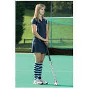 PT Ladies Polo Shirt Small Navy/White
