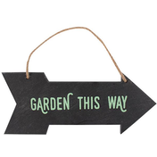 Slate Garden Sign Pack Of 5