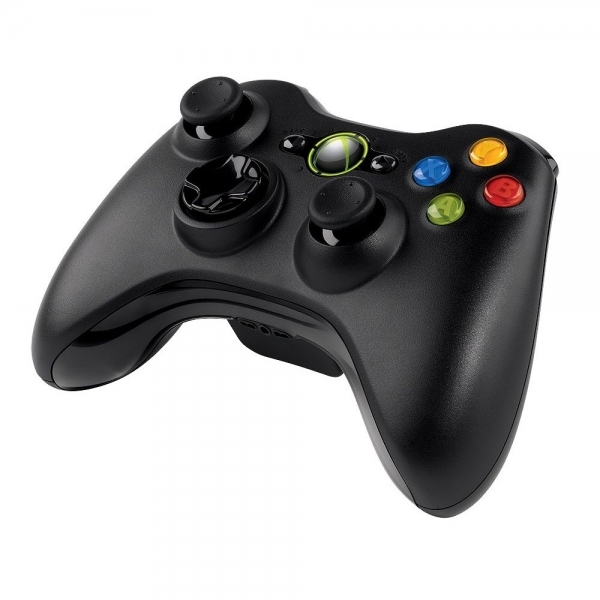 Microsoft Xbox 360 Wireless Controller For Windows Black PC - Image 1