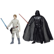 Star Wars Mission Series Action Figures Luke Skywalker & Darth Vader