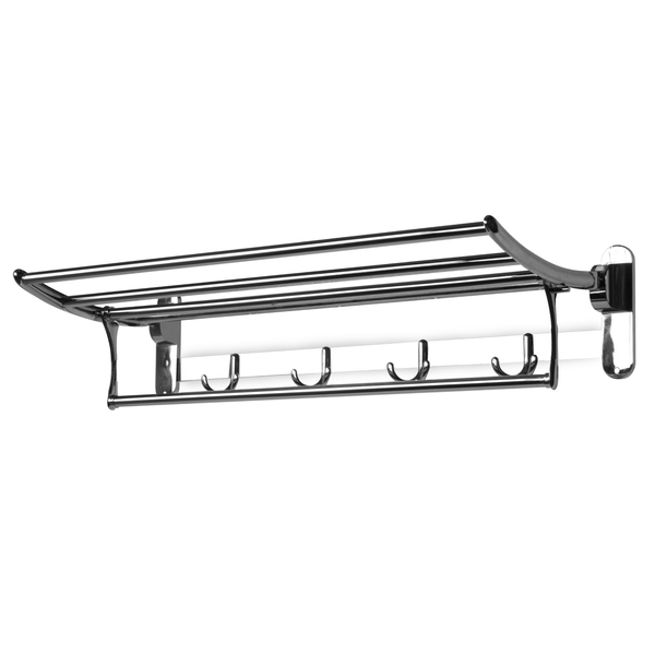 Foldable Bathroom Towel Rail | M&W