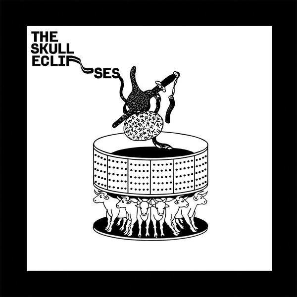 The Skull Eclipses ‎– The Skull Eclipses Limited Edition Grey Vinyl