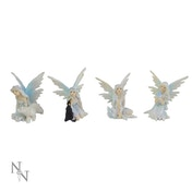 Frozen Friends (Pack Of 4) Fairy Figures