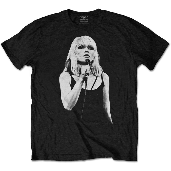 Debbie Harry - Open Mic. Men's X-Large T-Shirt - Black