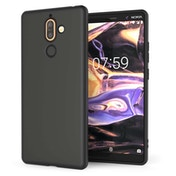 Nokia 7 Plus Matte TPU Gel - Solid Black