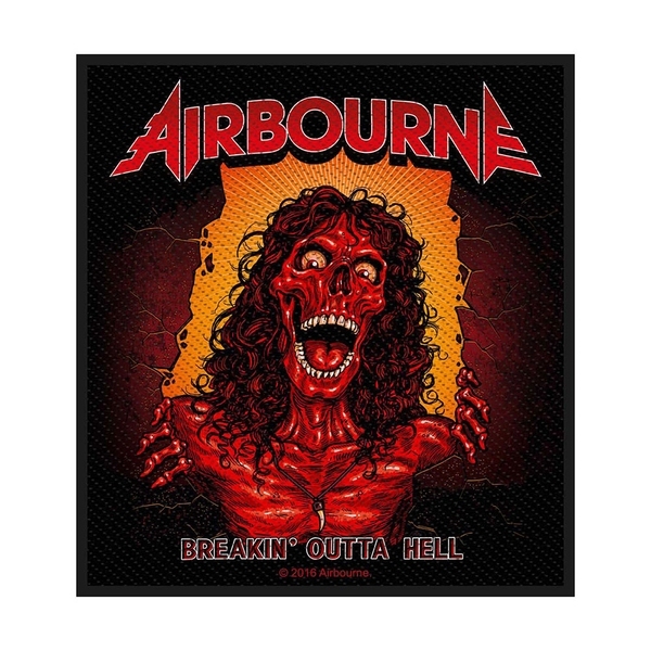 Airbourne - Breakin' Outa Hell Standard Patch