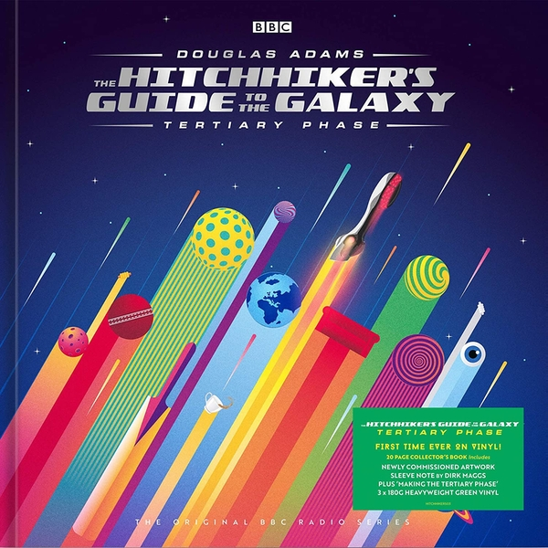 Douglas Adams - The Hitchhiker's Guide To The Galaxy Tertiary Phase Green Vinyl