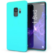 Samsung Galaxy S9 Matte Gel - Light Blue