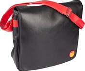Marvel Iron Man 12-Inch Vinyl Record Messenger Bag - Black