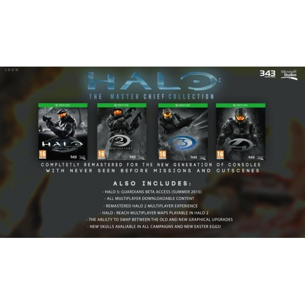 Halo the Master Chief Collection Xbox One Game  - Image 2