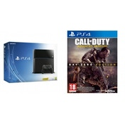 PlayStation 4 (500GB) Black Console + Call Of Duty Advanced Warfare Day Zero Edition